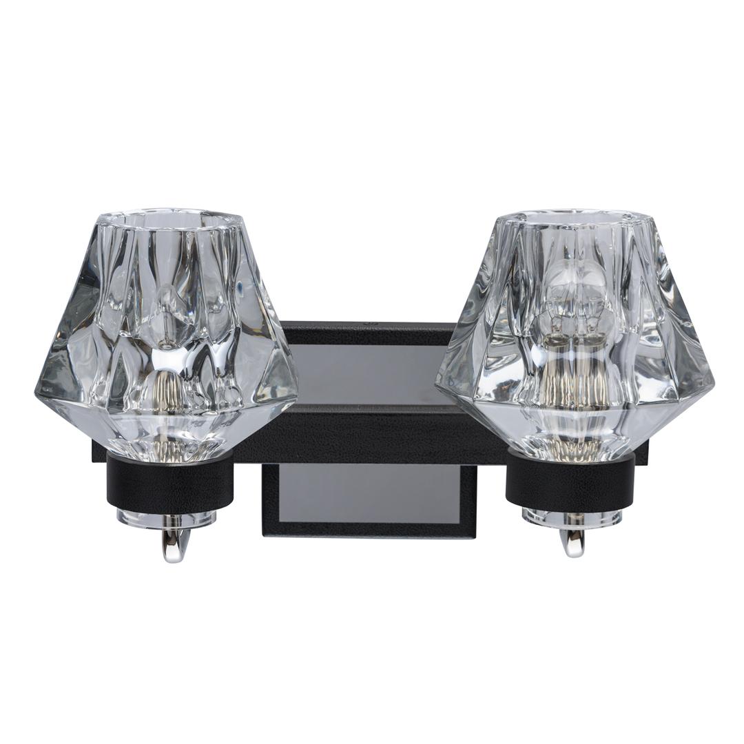 Lampa de perete Loft 2 Negru - 104022302