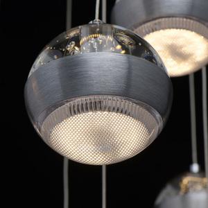 Lampa suspendată Megapolis 9 Silver - 730010209 small 10