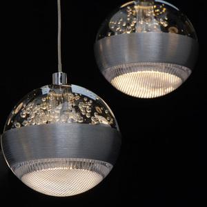 Lampa suspendată Megapolis 9 Silver - 730010209 small 11