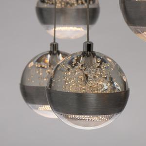 Lampa suspendată Megapolis 9 Silver - 730010209 small 12
