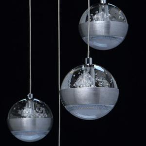 Lampa suspendată Megapolis 9 Silver - 730010209 small 2