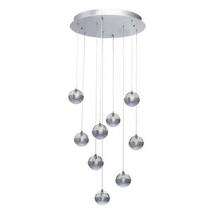 Lampa suspendată Megapolis 9 Silver - 730010209 small 0