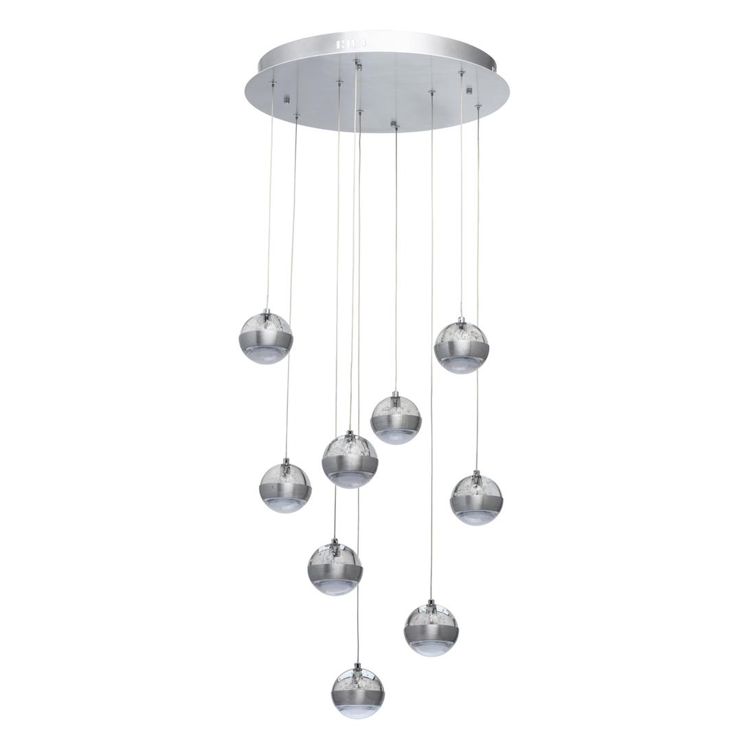 Lampa suspendată Megapolis 9 Silver - 730010209