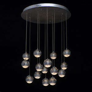 Lampa suspendată Megapolis 15 Silver - 730010315 small 1