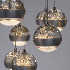 Lampa suspendată Megapolis 15 Silver - 730010315 small 8