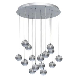 Lampa suspendată Megapolis 15 Silver - 730010315 small 0