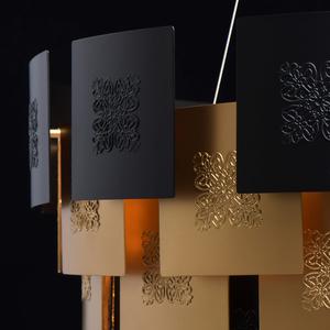 Lampa suspendată Carmen Crystal 8 Gold - 394010608 small 11