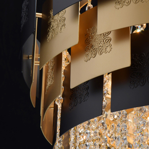 Lampa suspendată Carmen Crystal 8 Gold - 394010608 small 12