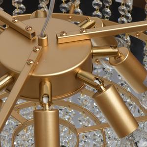 Lampa suspendată Carmen Crystal 8 Gold - 394010608 small 14