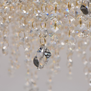 Lampa suspendată Carmen Crystal 8 Gold - 394010608 small 2