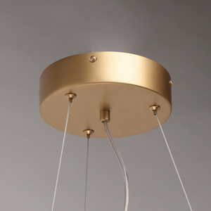 Lampa suspendată Carmen Crystal 8 Gold - 394010608 small 4