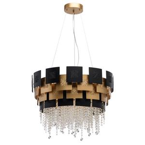 Lampa suspendată Carmen Crystal 8 Gold - 394010608 small 0