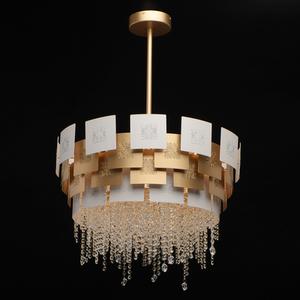 Lampa suspendată Carmen Crystal 6 Gold - 394011006 small 1