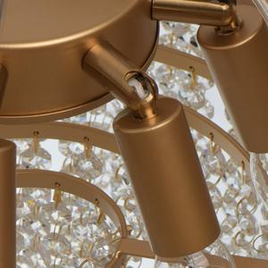 Lampa suspendată Carmen Crystal 6 Gold - 394011006 small 13