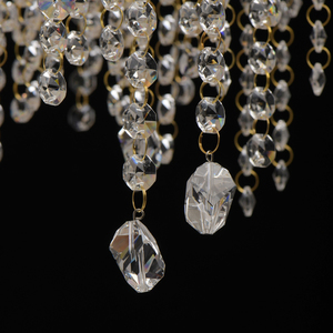 Lampa suspendată Carmen Crystal 6 Gold - 394011006 small 2