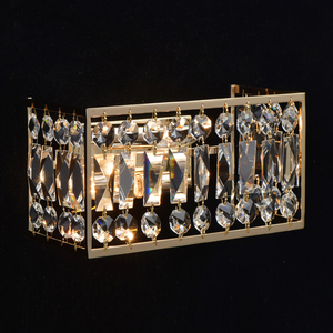 Sconce Monarch Crystal 2 Gold - 121021902 small 1