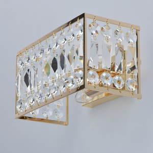 Sconce Monarch Crystal 2 Gold - 121021902 small 3