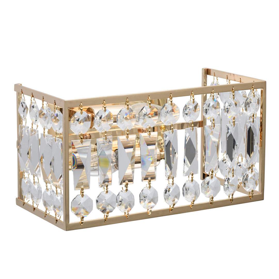 Sconce Monarch Crystal 2 Gold - 121021902