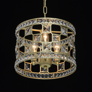 Lampa suspendată Monarch Crystal 3 Gold - 121011503 small 4