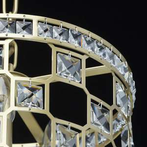 Lampa suspendată Monarch Crystal 3 Gold - 121011503 small 7