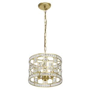 Lampa suspendată Monarch Crystal 3 Gold - 121011503 small 0