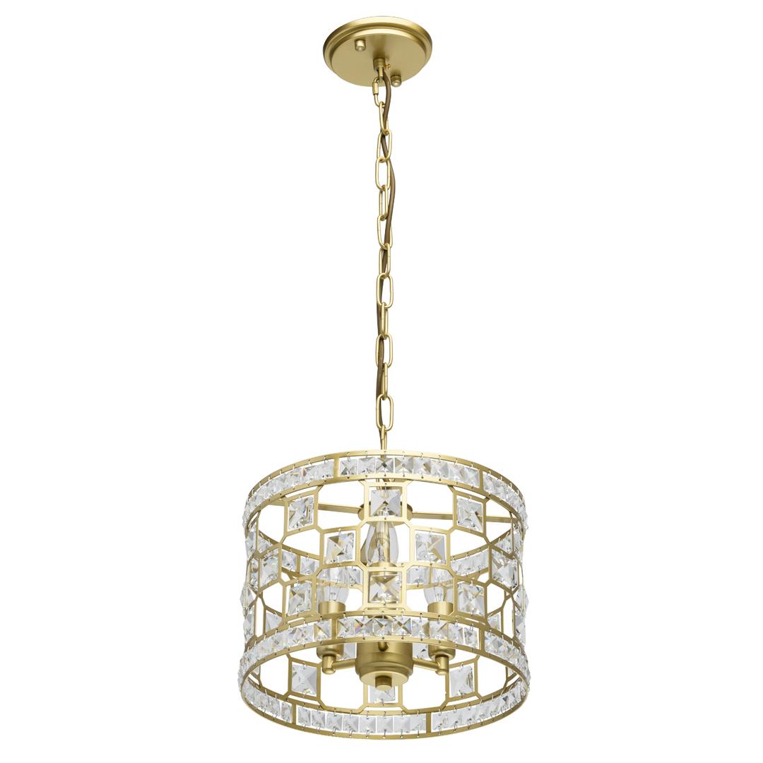 Lampa suspendată Monarch Crystal 3 Gold - 121011503