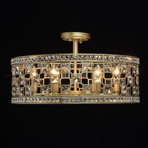 Lampa suspendată Monarch Crystal 6 Gold - 121011606 small 4