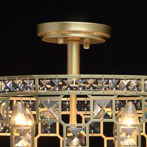 Lampa suspendată Monarch Crystal 6 Gold - 121011606 small 2