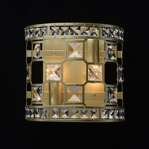Sconce Monarch Crystal 2 Gold - 121021402 small 1