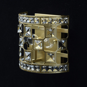 Sconce Monarch Crystal 2 Gold - 121021402 small 2