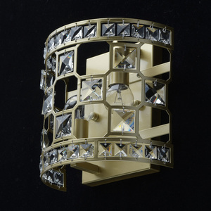 Sconce Monarch Crystal 2 Gold - 121021402 small 3