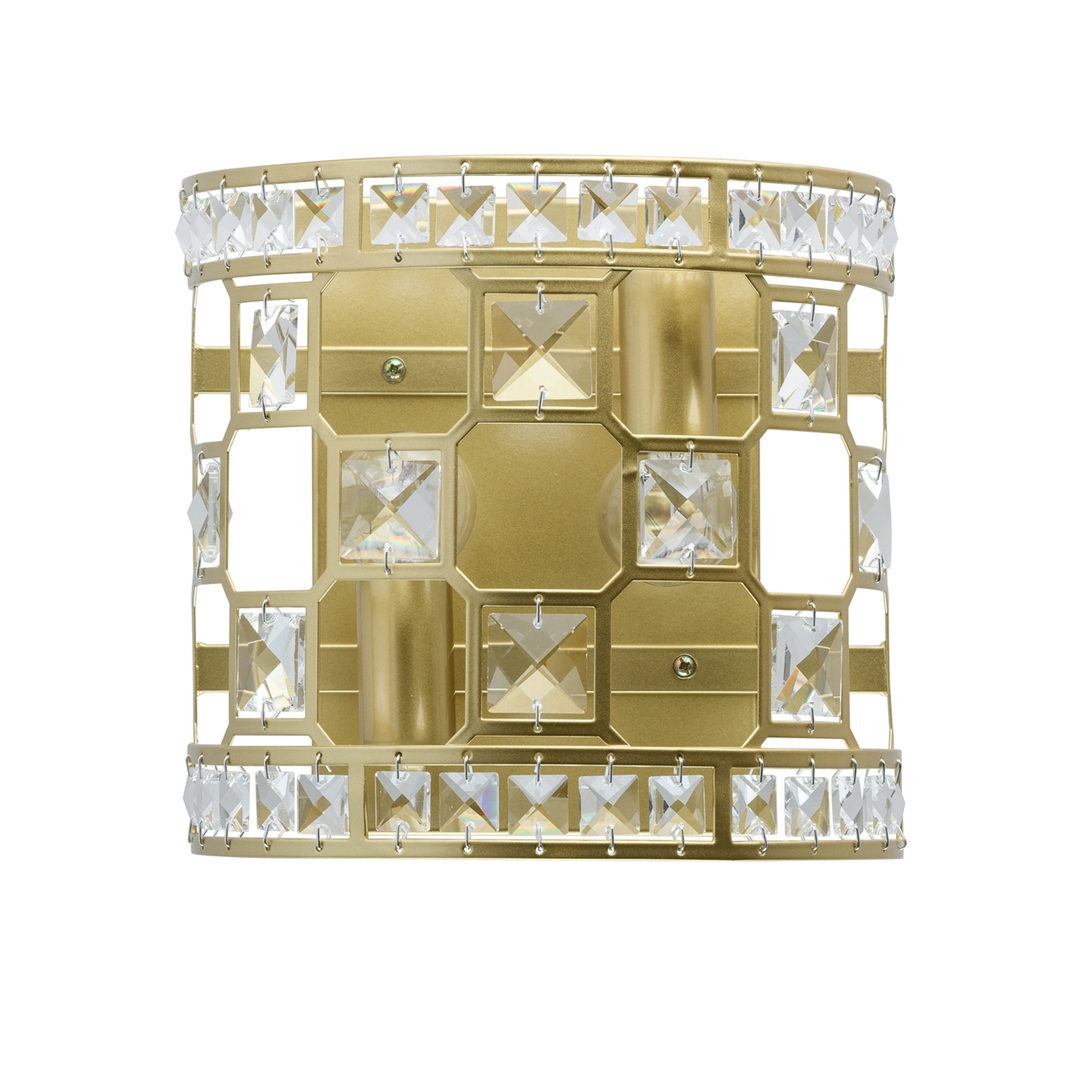 Sconce Monarch Crystal 2 Gold - 121021402