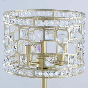 Lampa de masă din aur Monarch Crystal 3 - 121031703 small 2