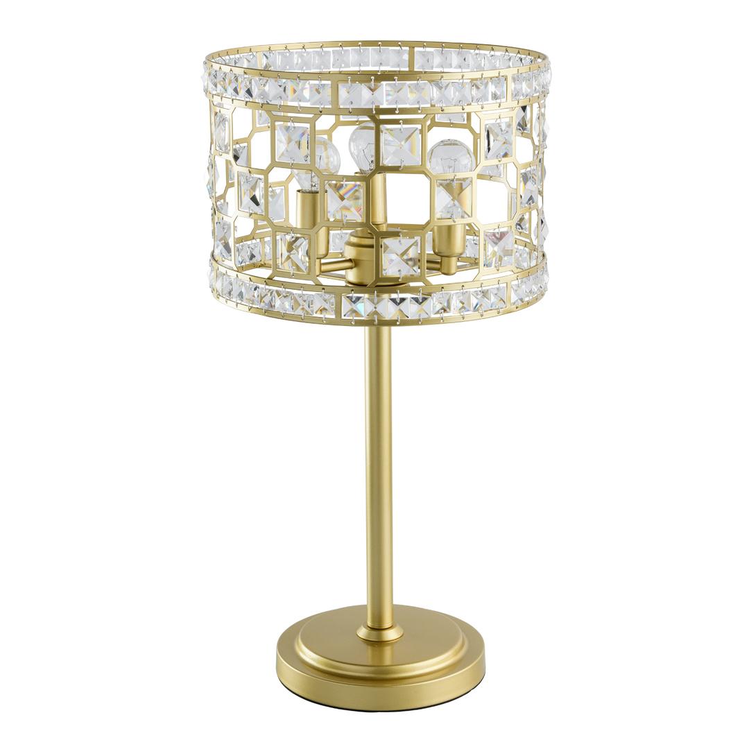 Lampa de masă din aur Monarch Crystal 3 - 121031703