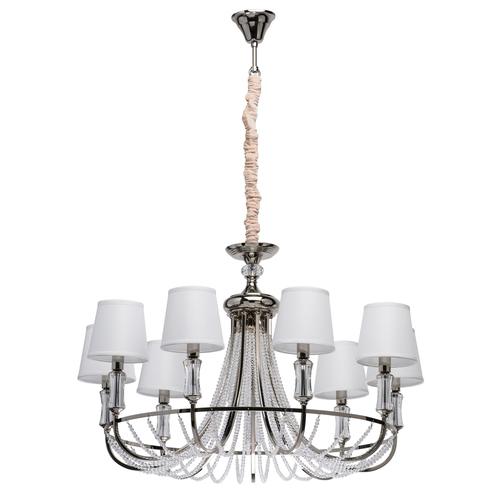 Lampă cu pandantiv Napoli Elegance 9 Chrome - 686010709