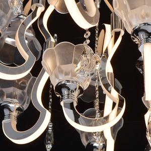 Lampa suspendată Rotenburg Megapolis 12 Chrome - 659011212 small 13