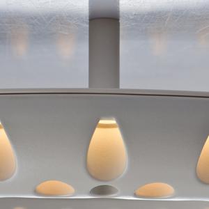 Lampă cu pandantiv Hi-Tech 45 White - 731010201 small 11