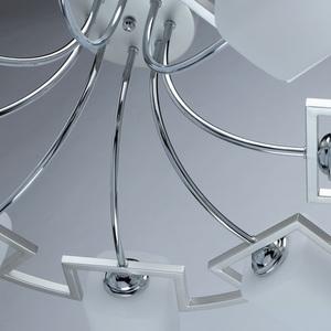 Lampa suspendată Alpha Megapolis 8 Silver - 673013508 small 9