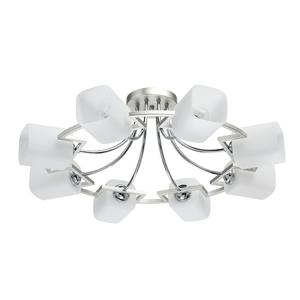 Lampa suspendată Alpha Megapolis 8 Silver - 673013508 small 0