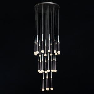 Lampa suspendată Flensburg Hi-Tech 150 Brown - 609013924 small 1