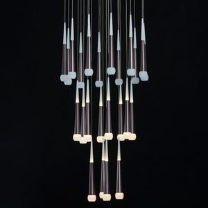 Lampa suspendată Flensburg Hi-Tech 150 Brown - 609013924 small 7