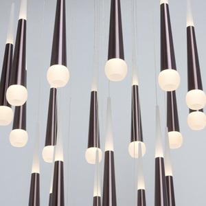 Lampa suspendată Flensburg Hi-Tech 150 Brown - 609013924 small 11