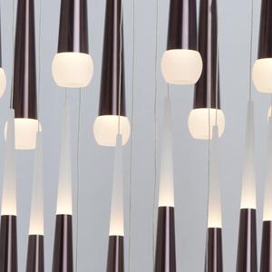 Lampa suspendată Flensburg Hi-Tech 150 Brown - 609013924 small 13