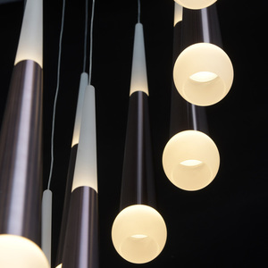Lampa suspendată Flensburg Hi-Tech 150 Brown - 609013924 small 14