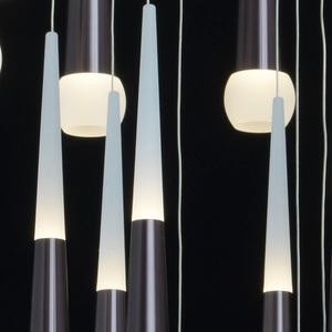 Lampa suspendată Flensburg Hi-Tech 150 Brown - 609013924 small 2
