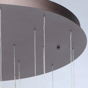 Lampa suspendată Flensburg Hi-Tech 150 Brown - 609013924 small 4