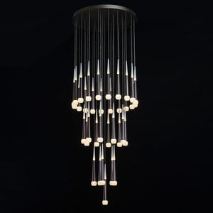Lampa suspendată Flensburg Hi-Tech 230 Maro - 609014036 small 1