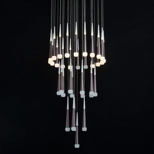 Lampa suspendată Flensburg Hi-Tech 230 Maro - 609014036 small 7