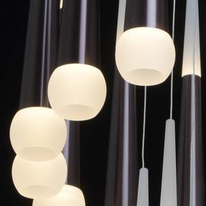 Lampa suspendată Flensburg Hi-Tech 230 Maro - 609014036 small 10