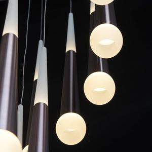Lampa suspendată Flensburg Hi-Tech 230 Maro - 609014036 small 12
